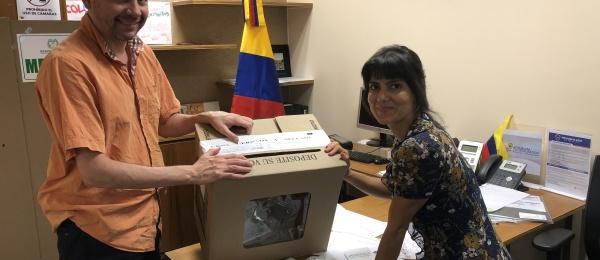 Consulado de Colombia en Hanói concluyó la Consulta Anticorrupción 2018